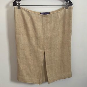Ralph Lauren purple label tweed skirt